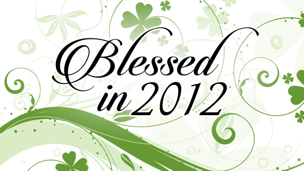 Blessed in 2012 1280x720